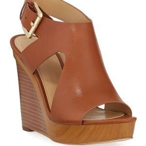 Michael Kors Josephine Wedge Platform Sandals 9